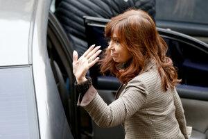 Bývalá argentínska prezidentka Cristina Fernándezová Kirchnerová.