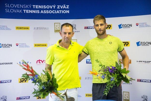 Dominik Hrbatý sa tešil s Kližanom z druhého titulu. Prvý získal na challengeri v Indian Wells.