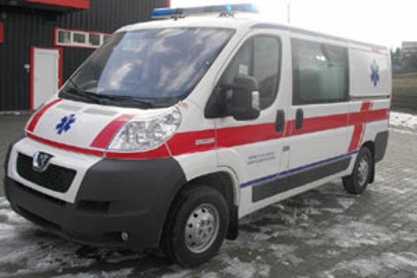 Upravené vozidlo pred dielňou fy Panax.