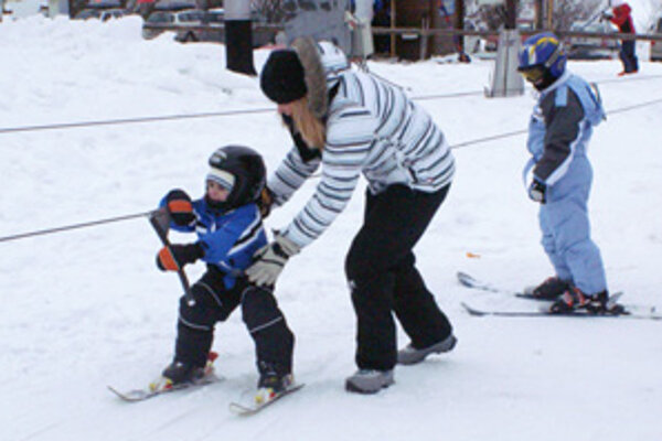 Posledná šanca naučiť sa lyžovať túto zimnnú sezónu.
