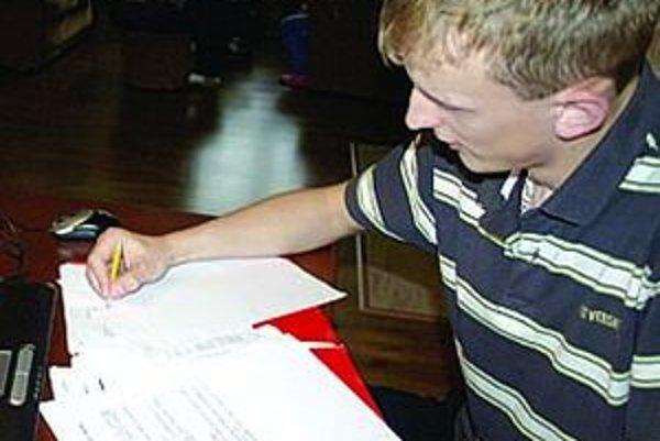 Mladý matematik zo Suchej Hory.