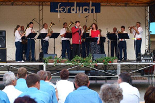 Fordych, festival dychových orchestrov v Tvrdošíne.