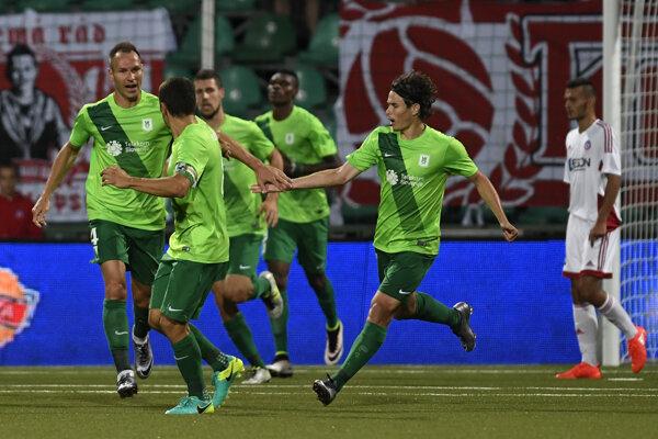 Futbalisti Olympije Ľubľana odohrajú najväčšie dva zápasy ich klubovej histórie.
