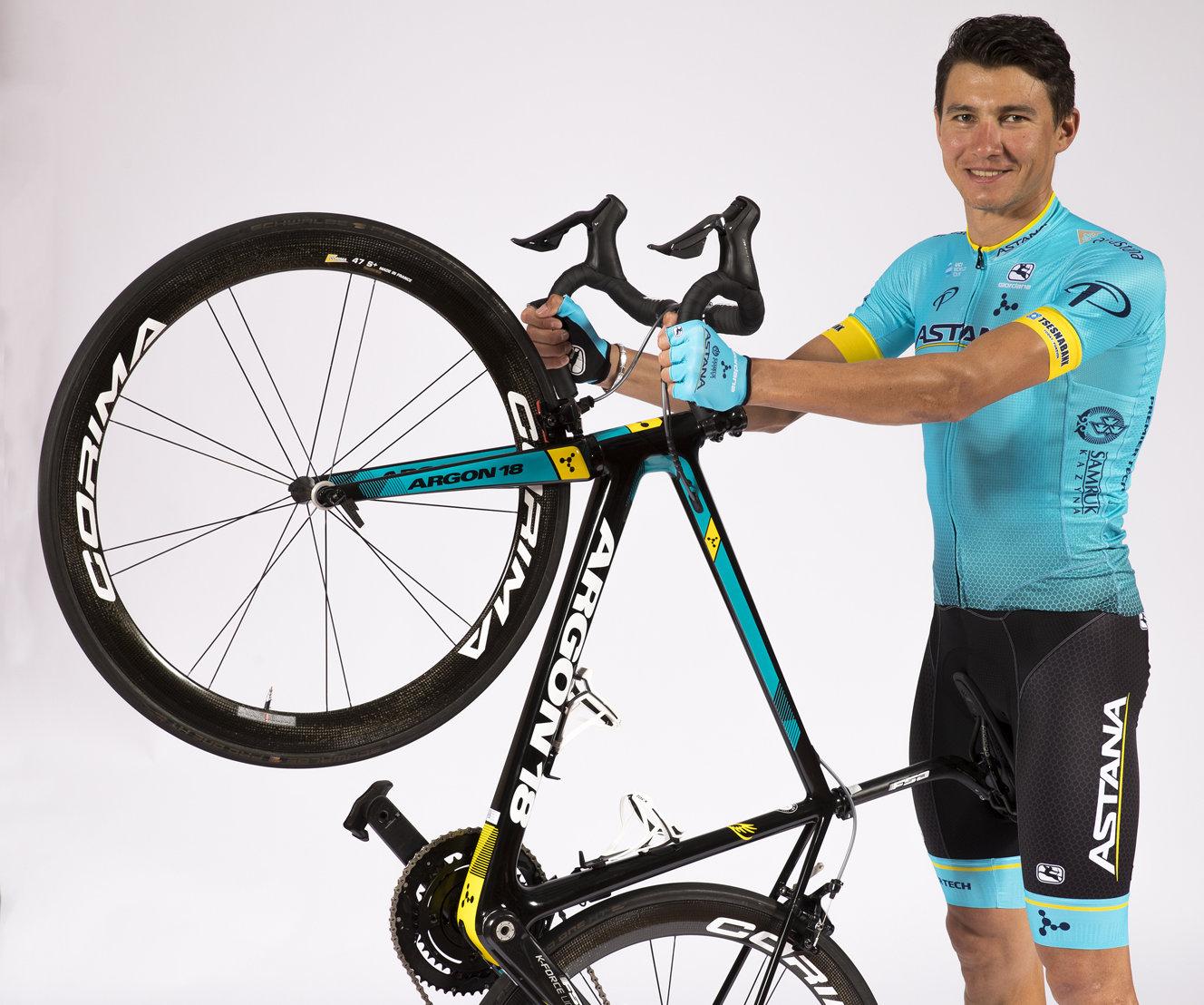Andrey Zeits, cyklista, tím Astana Pro Team