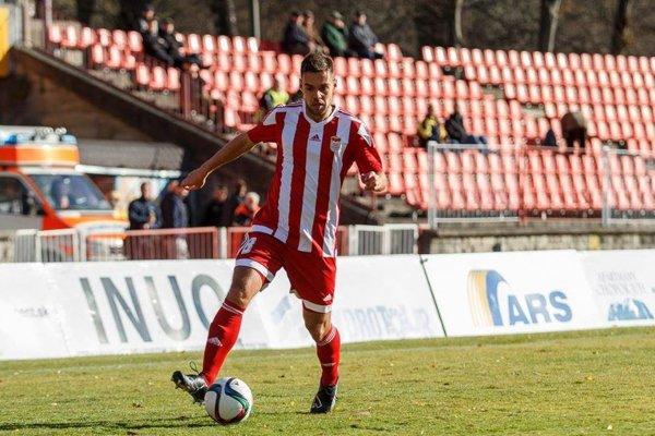 Gabriel Snitka sa ako jediný z Duklistov gólovo presadil, a to po penalte.
