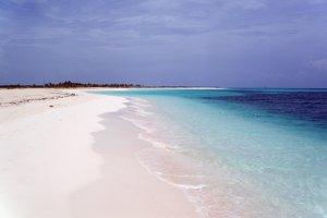 Kuba: Typická karibská pláž.