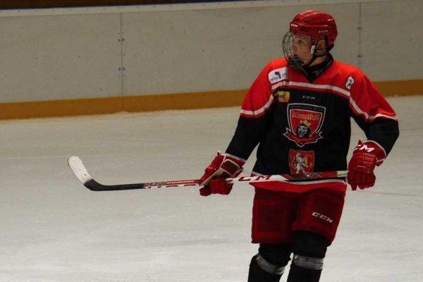 Hokejový talent Dalibor Ďuriš.