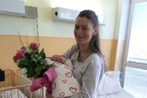 Šťastnou mamičkou je Kysučanka.