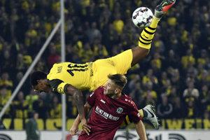 Hannover - Dortmund, Momentka.