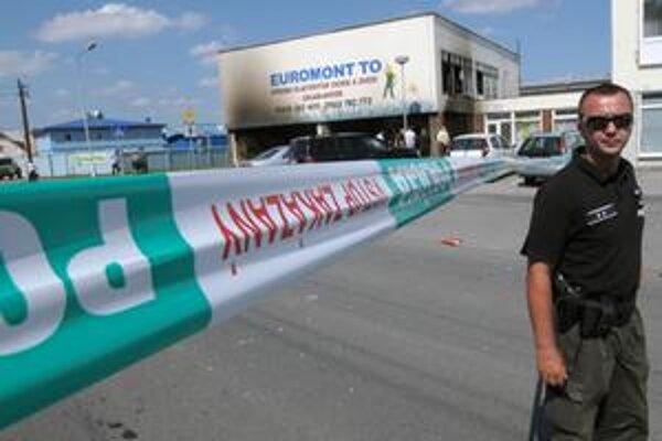 Polícia minulý rok objasnila výbuch vo firme Euromont.