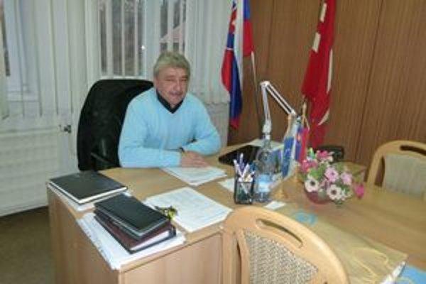 Bývalý starosta obce Jozef Vančo.