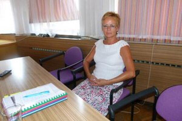 Jarmila Sasková. Počet ľudí, ktorí potrebujú starostlivosť, rastie.