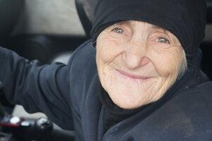 Storočná gruzínska babička.