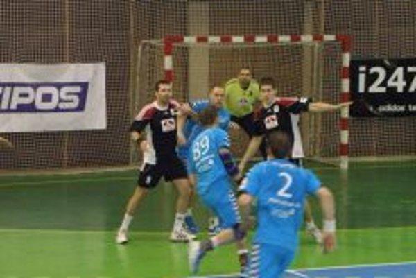 Michal Meluš v topoľčianskej bránke chytil aj štyri sedmičky.