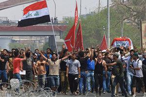 Protivládne protesty v Basre.