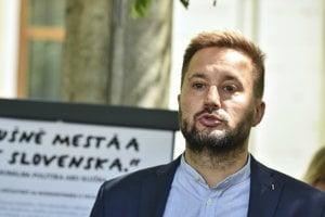 Kandidát na primátora Bratislavy Matúš Vallo.