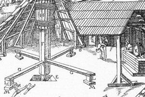 Stredoveký učenec Agricola mal banské technické zariadenia v malíčku.
