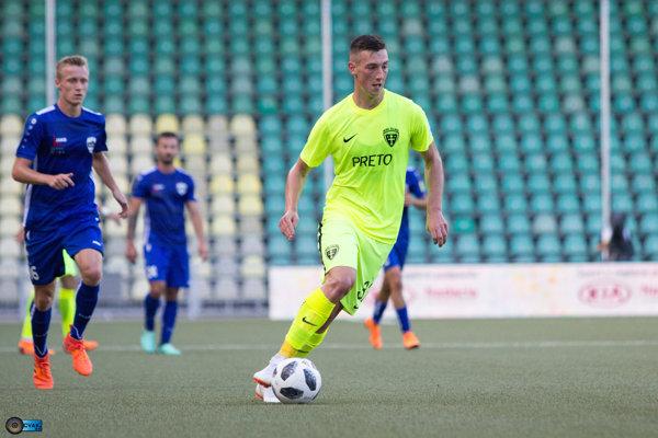 Mladý útočník z MŠK Žilina skóroval v tejto sezóne už trikrát.