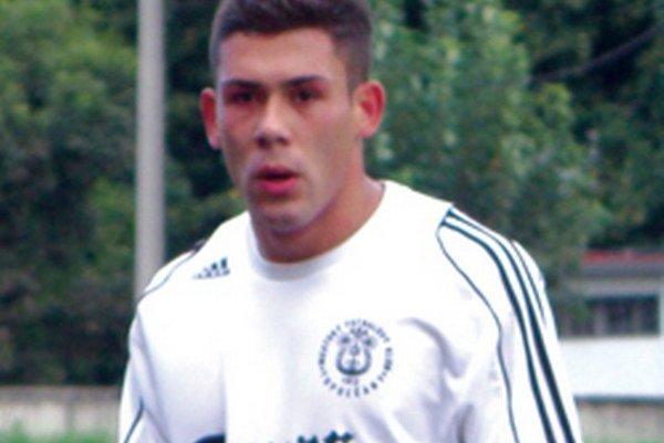 Dávid Badinský - strelec víťazného gólu Topoľčian.