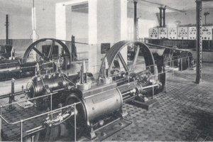 Interiér košickej elektrárne.