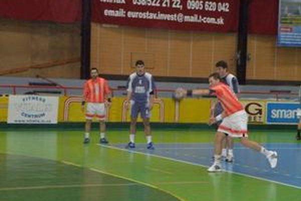 Marek Kovačech zaznamenal v zápase dvanásť gólov.