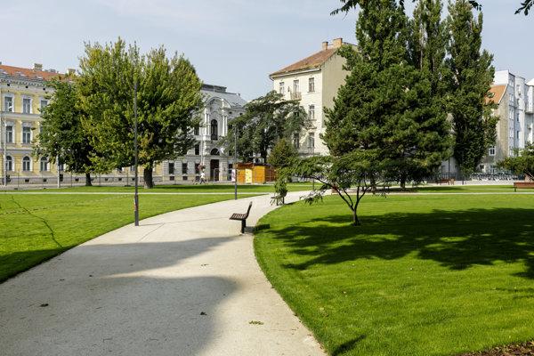 Landererov park.