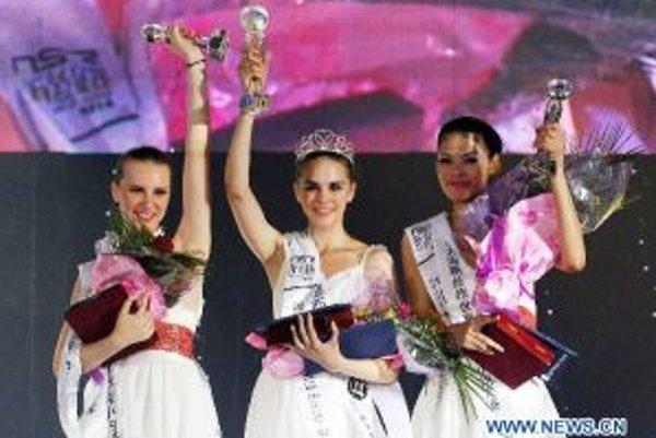 Na prvom mieste Ola z Mexika, na druhom Chen Zhangmei z Číny a na treťom Simona Ondrušková.