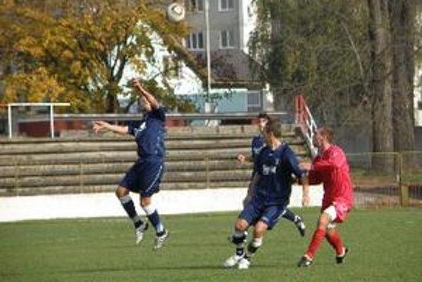 Topoľčany nezvládli druhý polčas a prehrali 1:2.