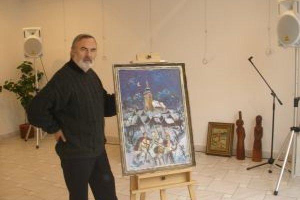 Marián Mikloš sa výtvarnému umeniu venuje od desiatich rokov.