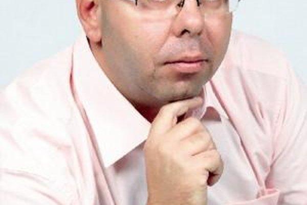 Predseda klubu ŠK Rebels Ivan Valko.