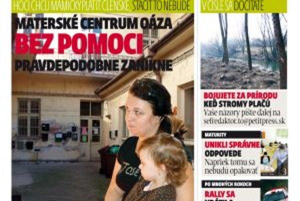 MY Topoľčianske noviny dnešok vychádzajú v utorok 22. marca.
