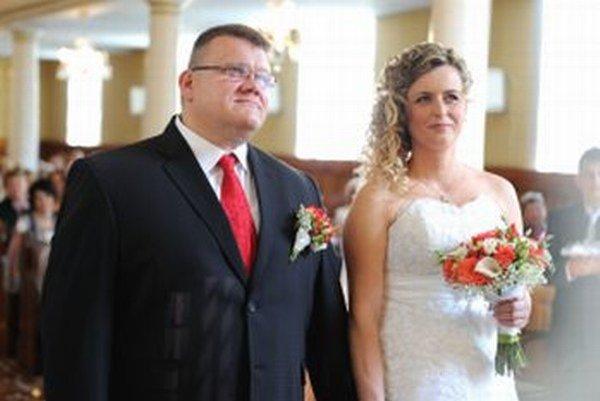 Igor Húska s manželkou Jankou.