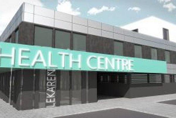 Takéto moderné zdravotnícke centrum by stálo vedľa Tesca.