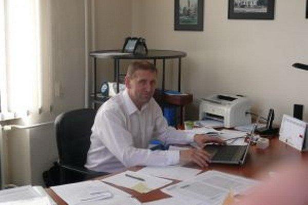 Viliam Majda, prednosta Mestského úradu vo Vrútkach.