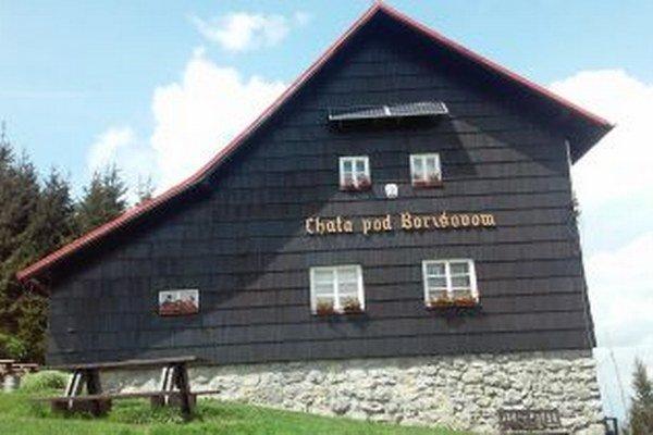 Chata pod Borišovom.