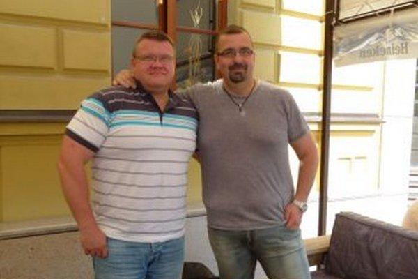 Igor Húska (vľavo) i Martin Hudec urobili za pol roka viditeľné pokroky a idú v tom pokračovať.
