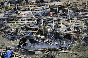 Mangkhut je najsilnejší tajfún, aký tento rok postihol Filipíny.