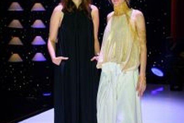 Andrea Pojezdálová (vľavo) tvorila šaty pre Adelu tri mesiace.