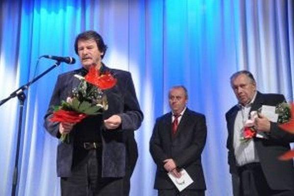 Z krstu knihy výtvarníka a spisovateľa Miroslava Bartoša.