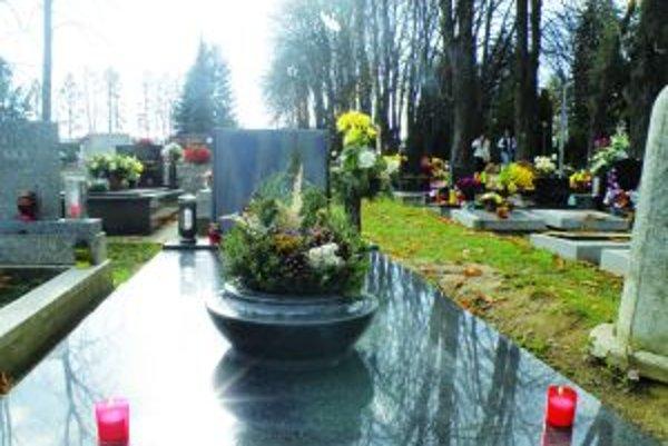 Cintorín a Sklabinskej. Mesto ho zatiaľ neplánuje rozširovať.