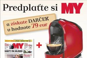 akcia predplatné s kávovarom