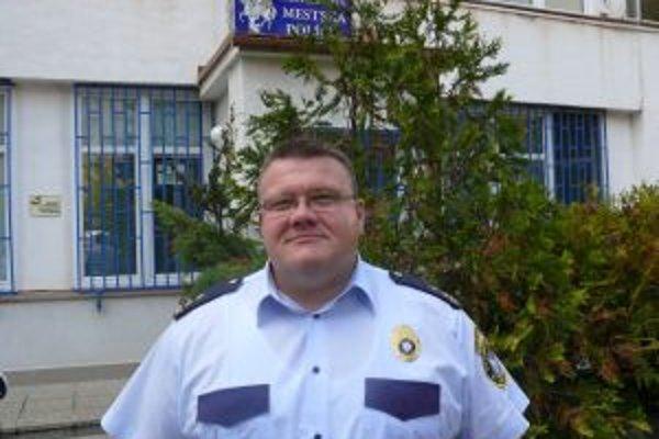 Igor Húska, nový náčelník MsP v Martine.