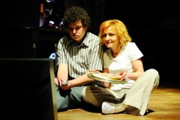 S Evou Gašparovou v úspešnom predstavení v SKD August na konci Ameriky.