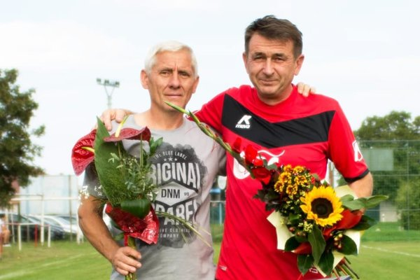 Zľava Árpád Izsóf a Karol Takács.