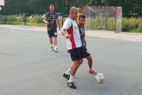 Uličná liga v Prešove.