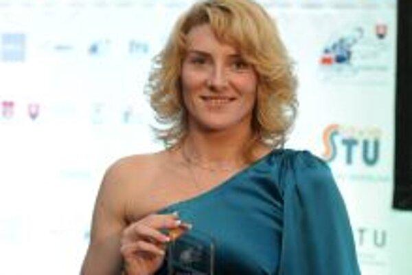 Kráľovná slovenskej atletiky. Lucia Klocová zvíťazila v prestížnej ankete po prvý raz.