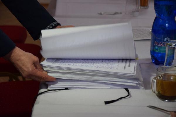 Celkovo 9797 podpisov vyzbierali Kysučania na podporu zachovania stanice rýchlej lekárskej pomoci.
