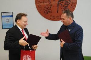 Peter Kónya (PU) a Jozef Muránsky (SG DSA Sabinov).