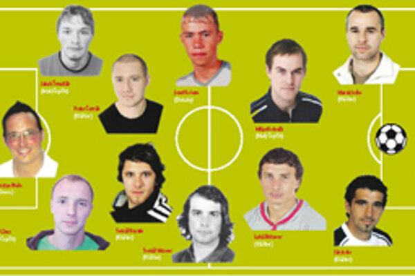 Jedenástka turčianskych futbalových súťaží za rok 2012.