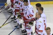 Hokejisti DVTK Miškovec.